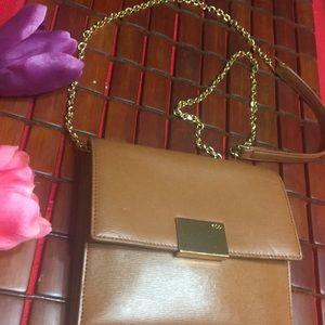 Brown Ralph Lauren crossbody bag